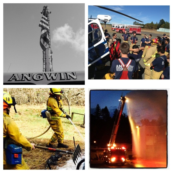 Angwin Fire collage 1