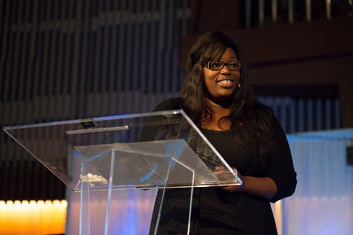 Melabi Amponsah shared her message with PUC for Student Week of Prayer 2014.