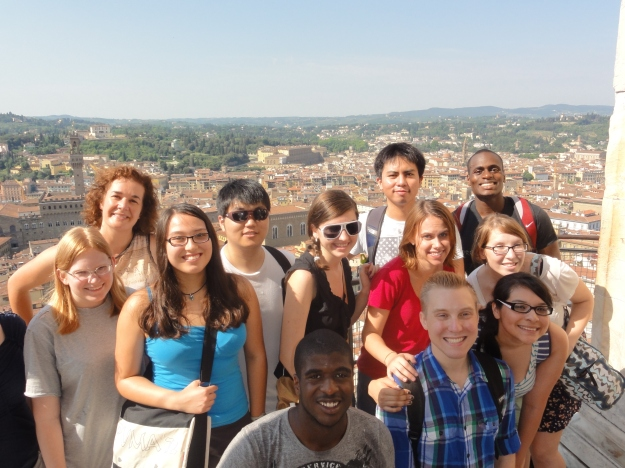 Honors students enjoy their annual trip to Florence, Italy.